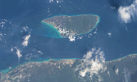 cozumel from Space
